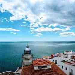 vistas castillo mar
