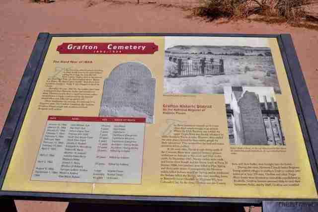datos del cementerio de Grafton