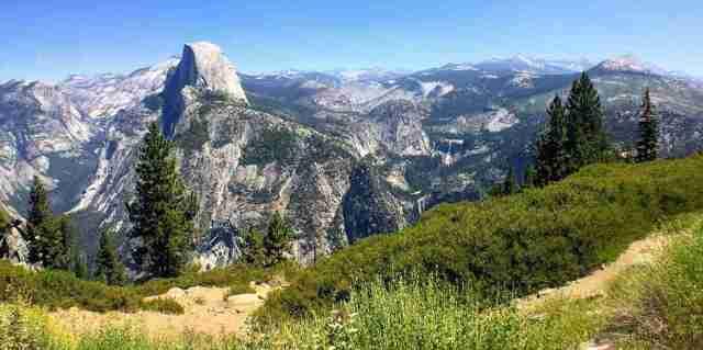 Vistas desde Glacier Point-rutas extra-valle