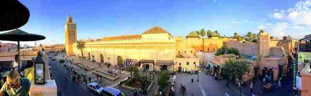 Vistas panoramicas desde Kasbah Cafe