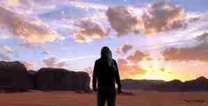 Wadi Rum puesta de sol