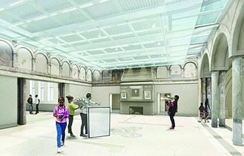 Rendering of Pittsburg Children's Museum: Museum lab new interior space