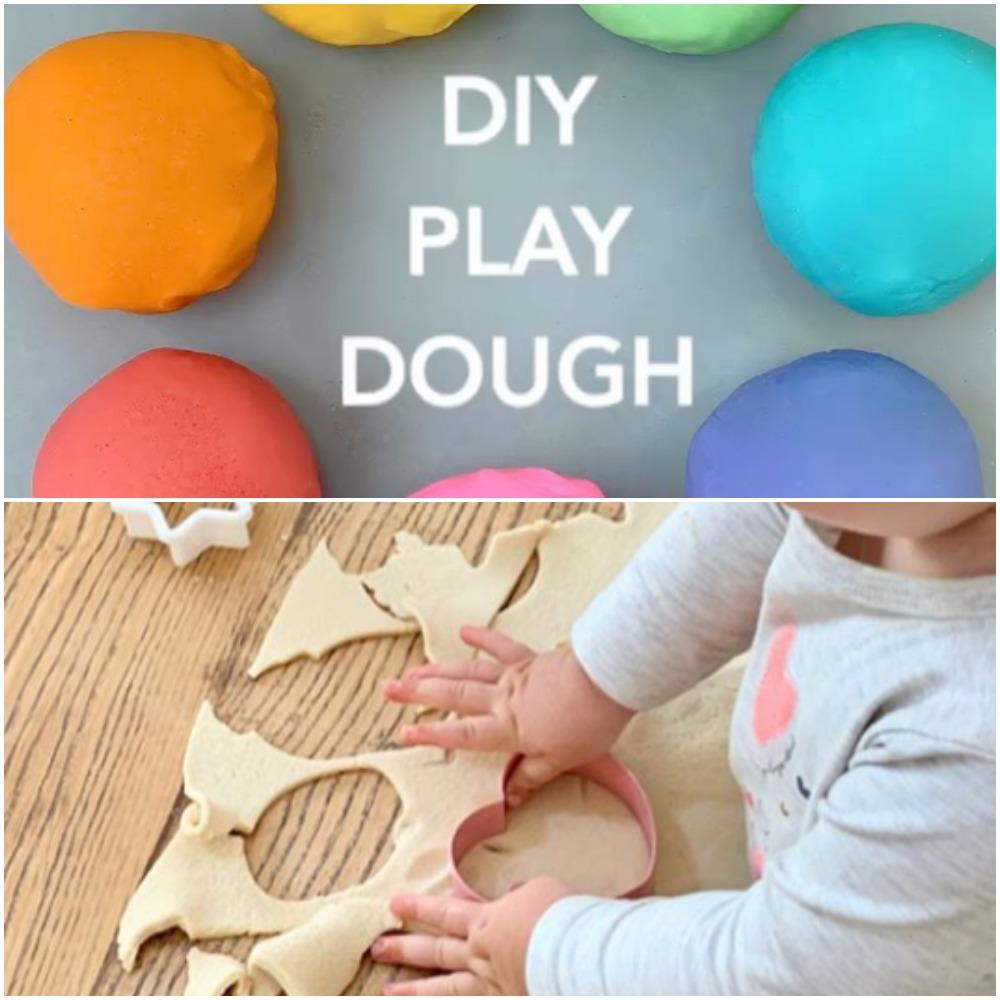 Δραστηριότητες παιδικής δημιουργικότητας: σπιτικό ζυμαράκι