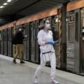 μετρό, λεψφορεία, μέσα μεταφοράς, κορονοϊός