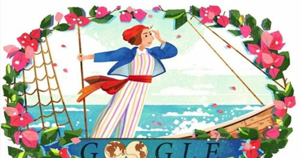 Google Doodle για την Jeanne Baret, την πρώτη γυναίκα που έκανε τον περίπλου της Γης–Thisisus.gr
