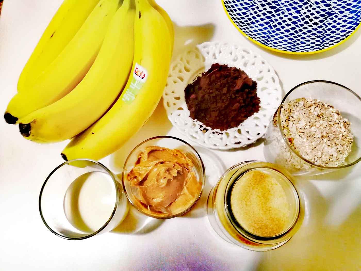 Μπαλάκια με φυστικοβούτυρο και Μπανάνα -Thisisus.gr