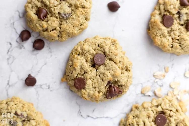 Μαλακά μπισκότα με βρώμη και chocolate chips – Thisisus.gr