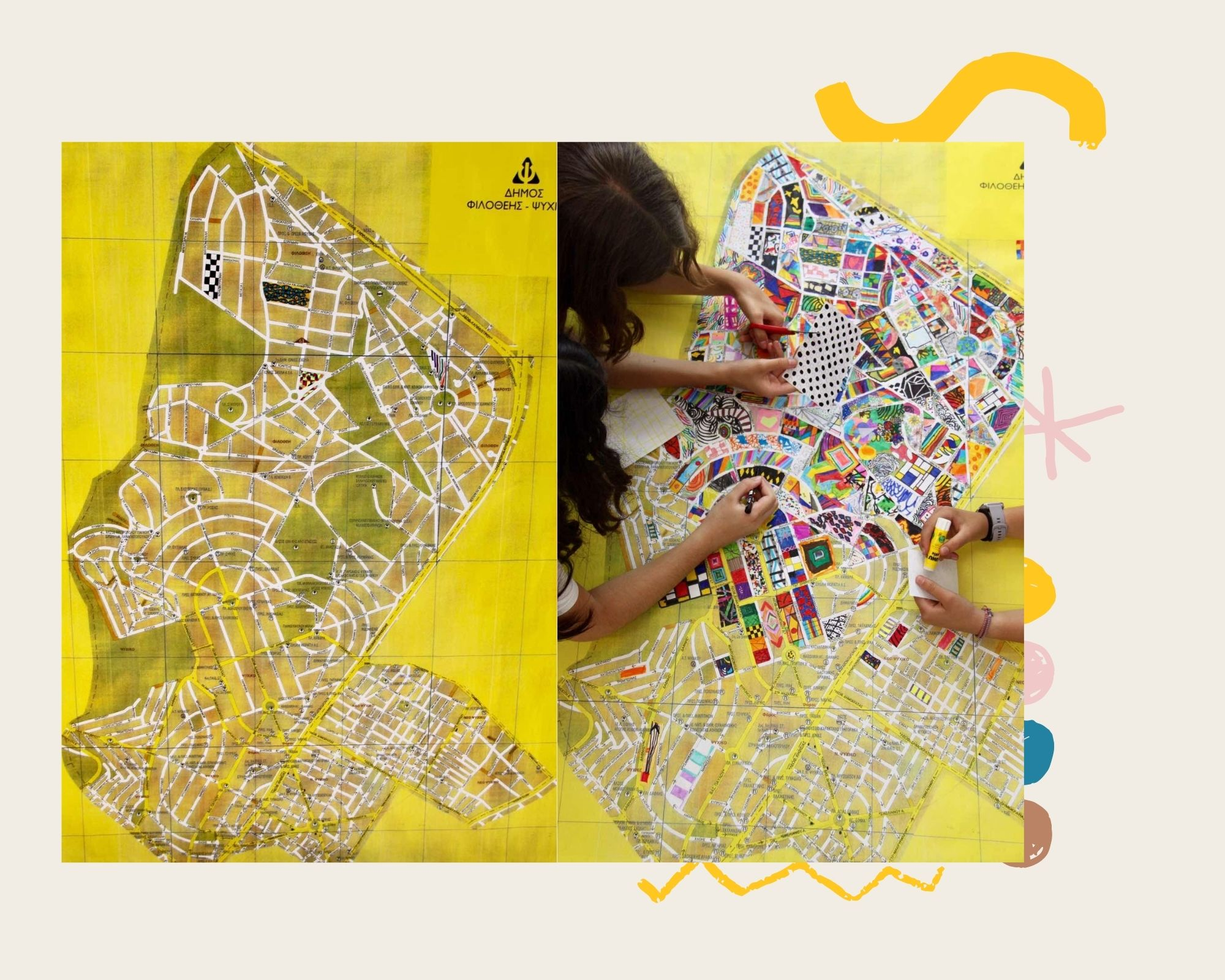 Ο χάρτης του Δήμου Ψυχικού μέσα από τα μάτια των παιδιών – Thisisus.gr