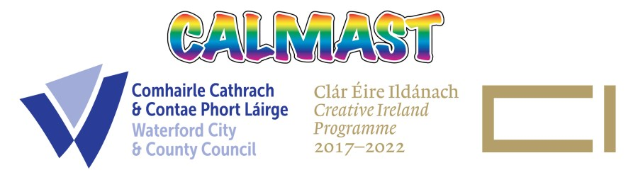 Waterford City & County Council, Calmast and Creative Ireland logos