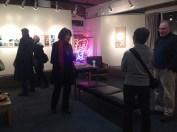 Opening reception. Mail art conversations.