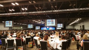 Luncheon for a sold out conference