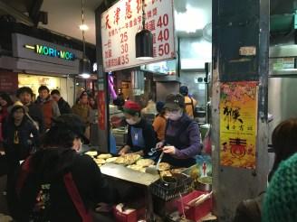 Street vendor in Taipei, Taiwan