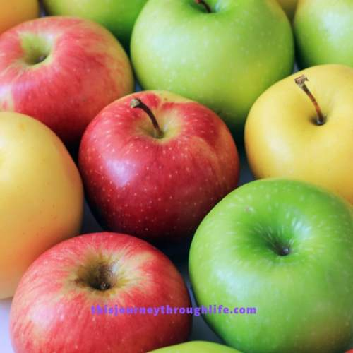 apples - TJTL - weight loss and increased energy information