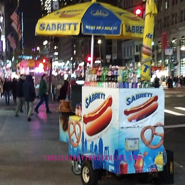 This Journey Through Life - NYC food cart