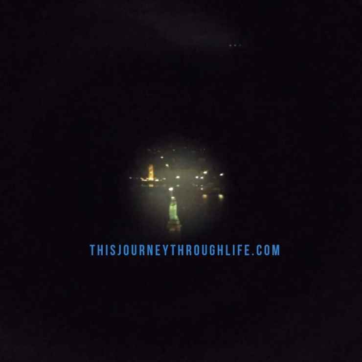 This Journey Through Life - NYC Lady Liberty thru viewfinder on Empire State building