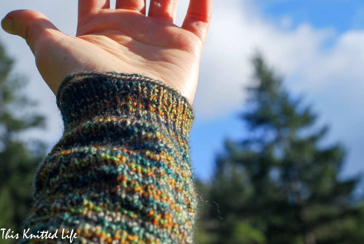 Everything you ever wanted to know about knitting man socks.