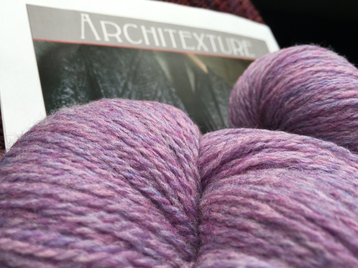 Architexture scarf kit from Craftsy