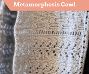 Metamorphosis Cowl Pattern
