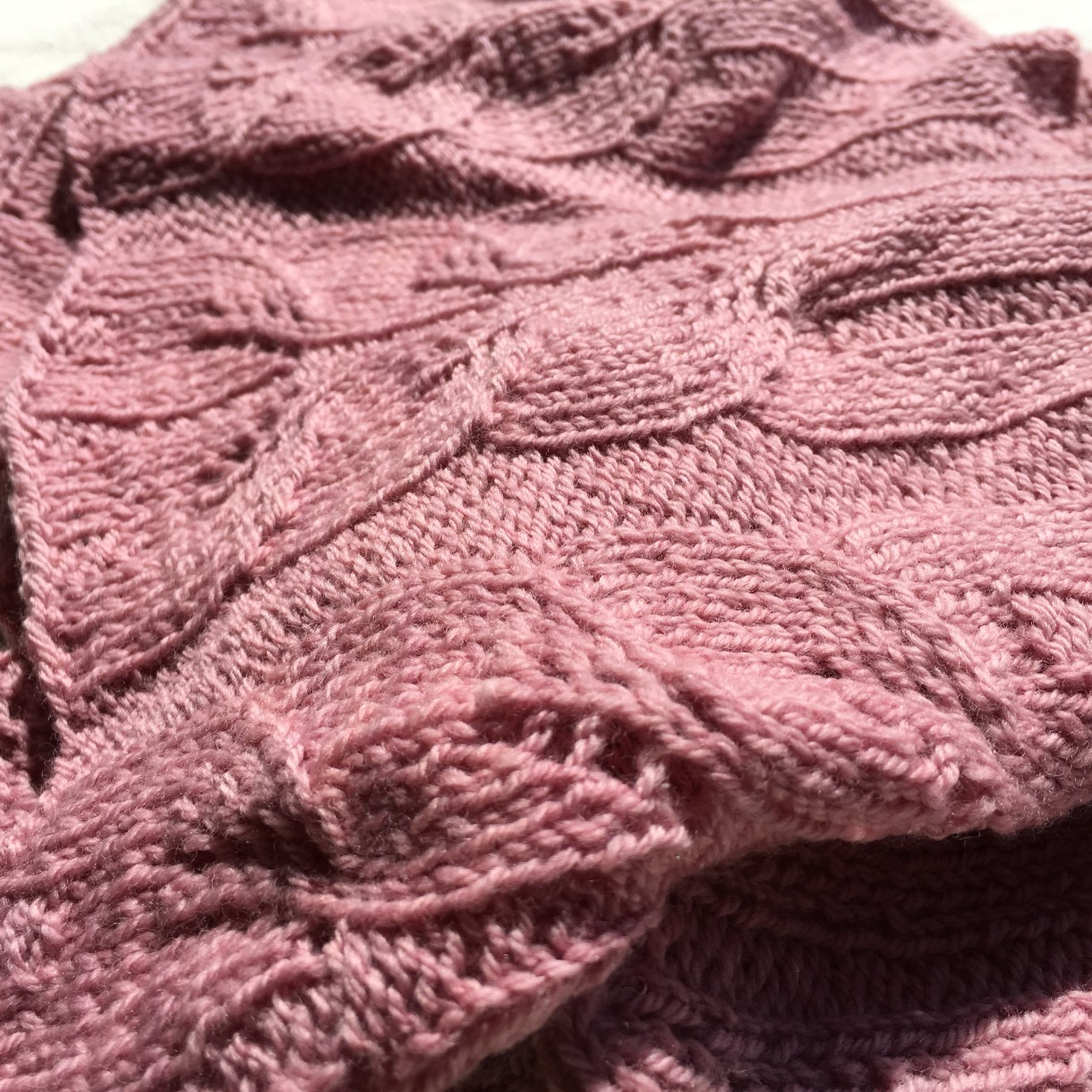 Tulipland summer scarf. Light with a touch of lace. And bright.