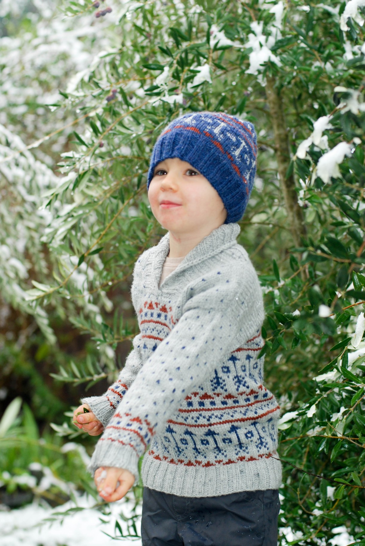 Locksley by Emily Ringelman. Knit by Andrea @ This Knitted Life in Swish Worsted DK (Knit Picks).