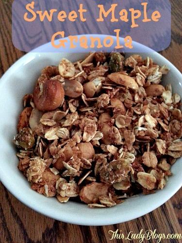 Sweet Maple Granola
