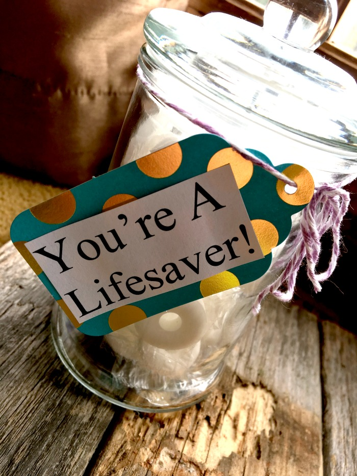 lifesaver-thank-you-gift