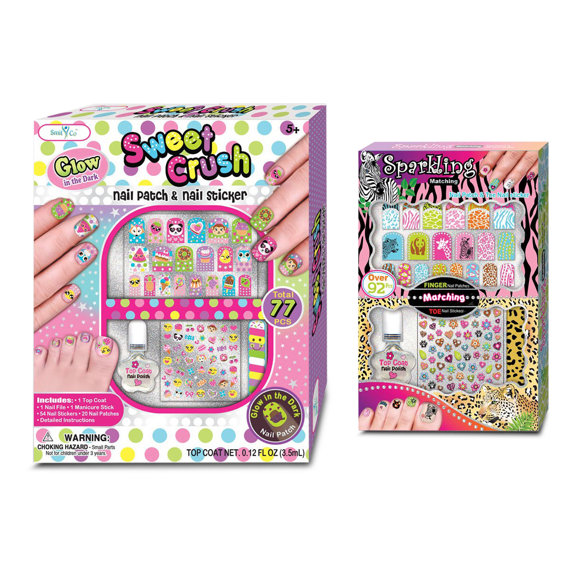 Pamper your princess with smitco nail art set for girls this so imagine how excited they were to receive this cool nail art set for girls from smitco llc this nail set features two individual sets that come complete prinsesfo Images