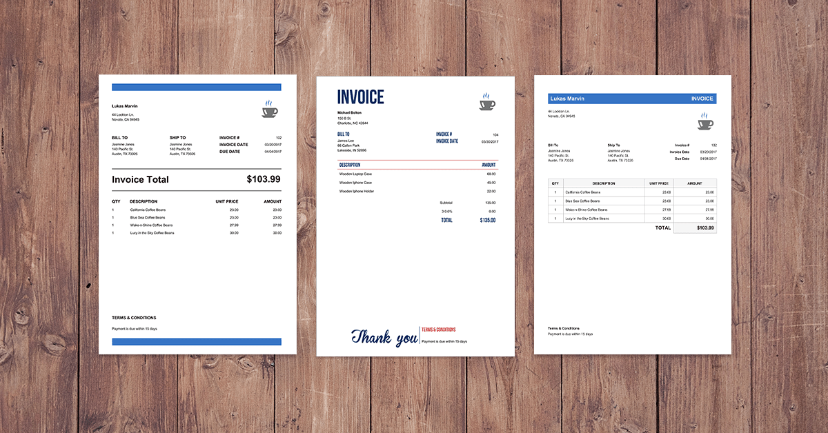create professional online invoices for free with invoice home