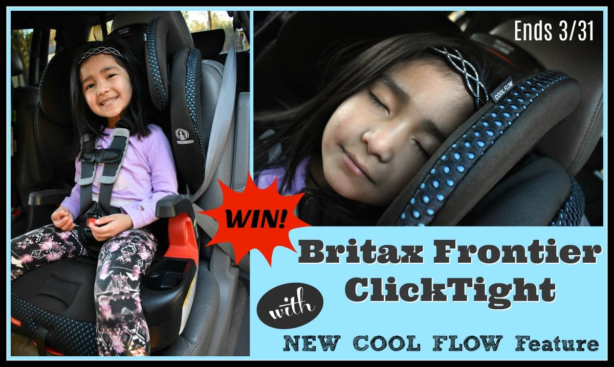 Britax Cool Flow Frontier ClickTight Car Seat Giveaway Ends 3 31