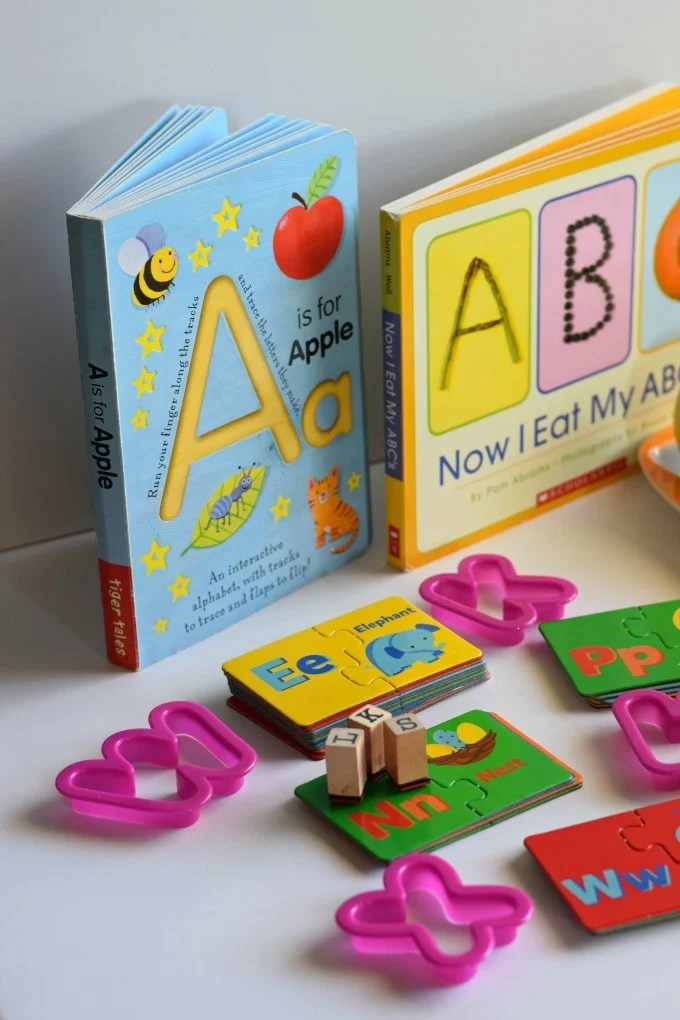 Two Year Old Homeschool Preschool: Alphabet Activities by This Little Home of Mine