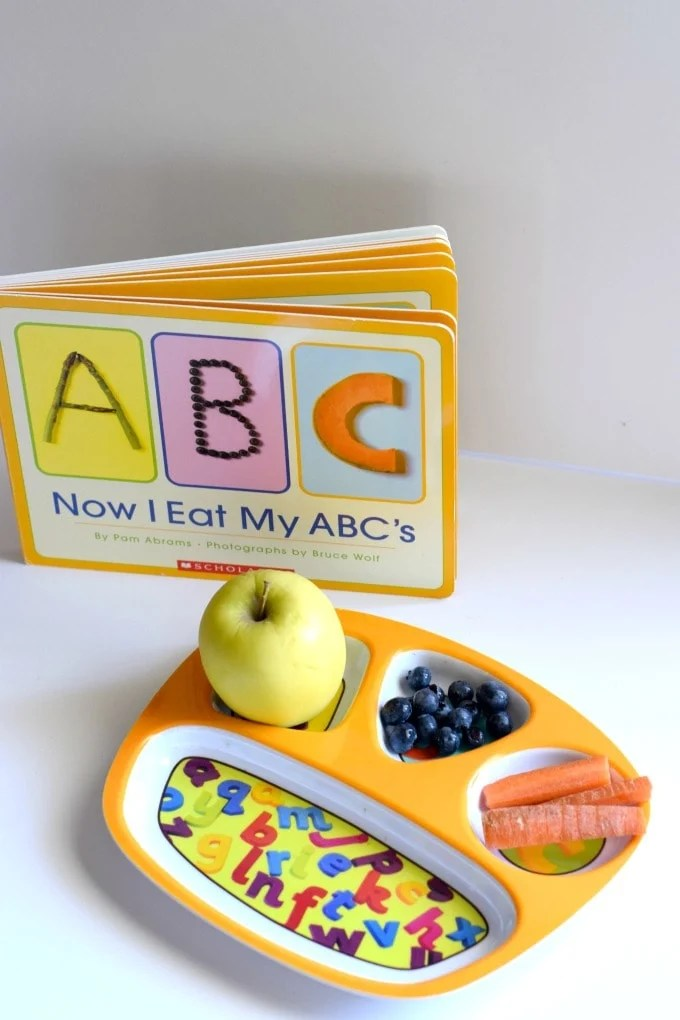 Three Year Old Homeschool Preschool: Now I Eat My ABCs (Letter a Week Alphabet Activities) by This Little Home of Mine