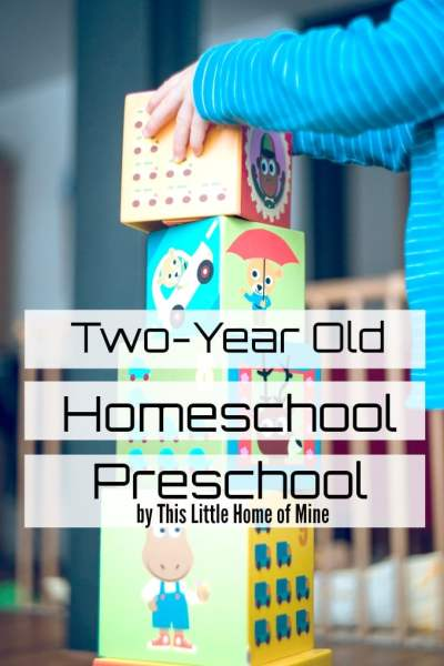 Two-Year Old Homeschool Preschool - Preschool at Home -
