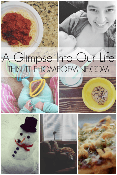 A Glimpse Into Our Life: February