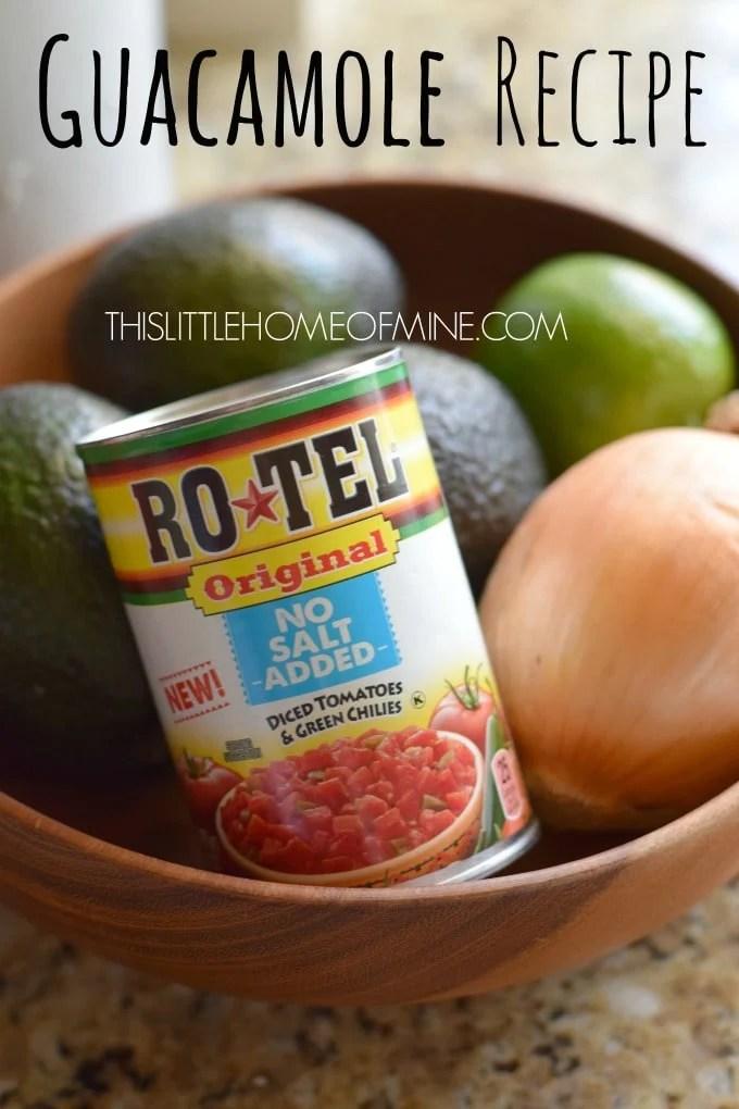 Rotel Guacamole Recipe