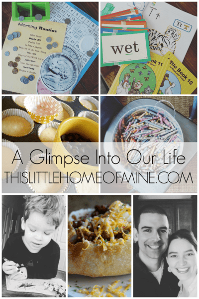 A Glimpse Into Our Life: March