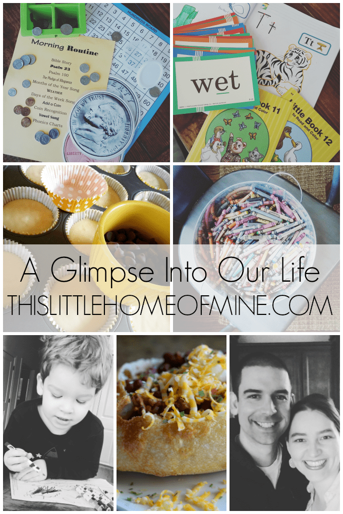 A Glimpse Into Our Life March 2016 by This Little Home of Mine