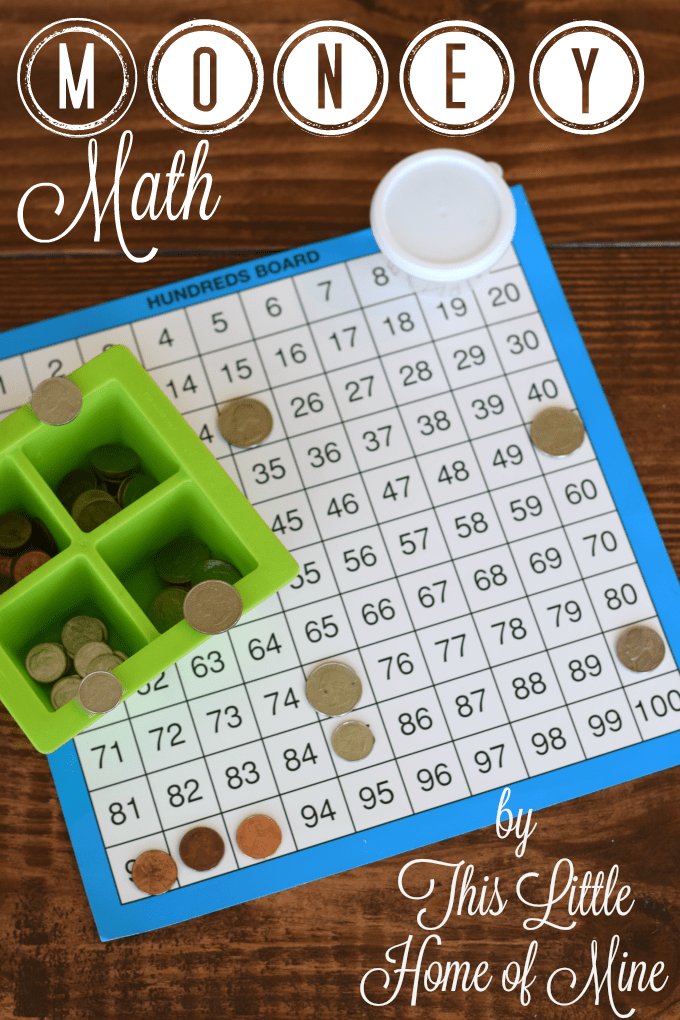 Hands-On Math: Counting Money by This Little Home of Mine