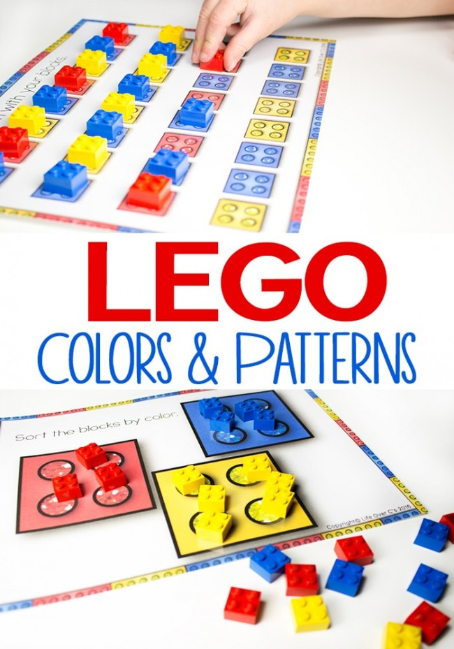 Lego Colors and Patterns Printables: Featured on This Little Home of Mine