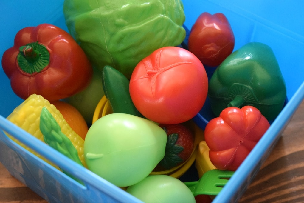 Play Food Color Sort - Sorting Activity by This Little Home of Mine
