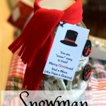 Snowman Jar: Christmas Gift Idea
