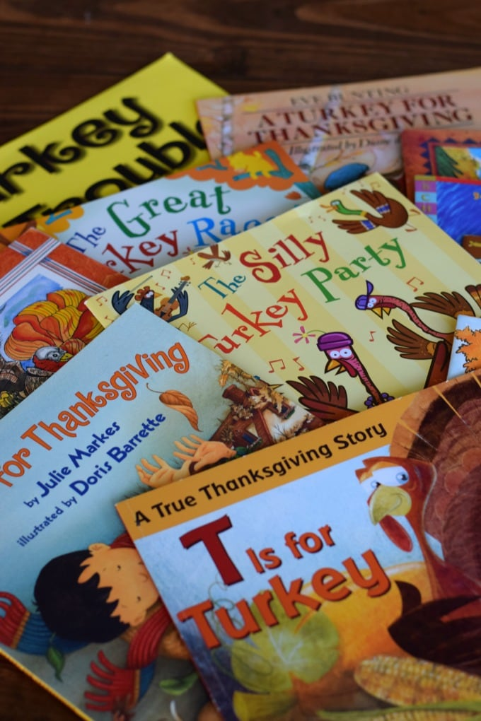 Thanksgiving Day Activities for Kids: Picture Books by This Little Home of Mine