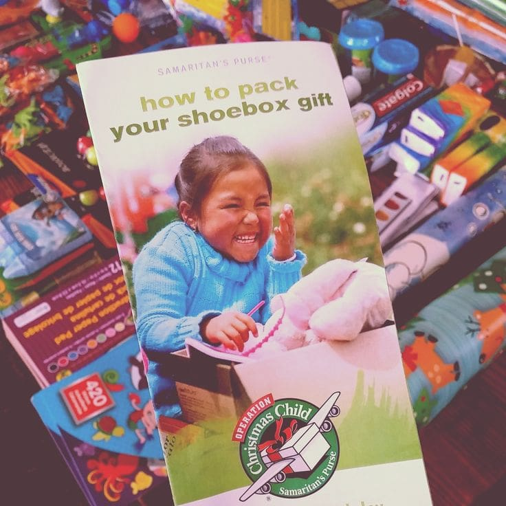 No Christmas Shoeboxes This Year…and Here's Why… by This Little Home of Mine