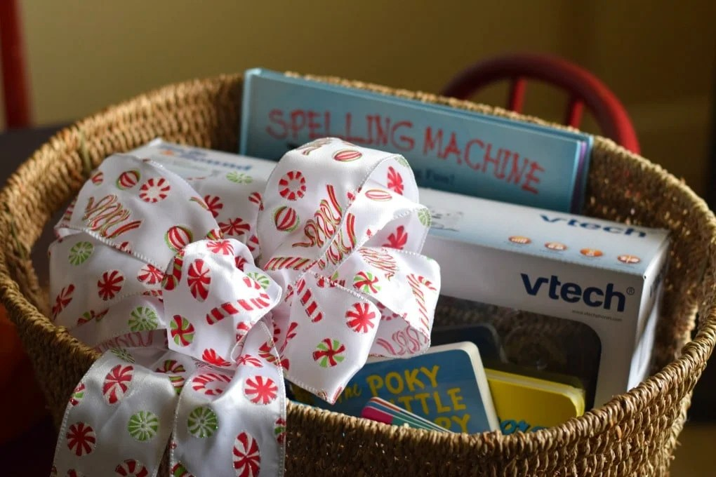 Our Bedtime Routine: Gift a Bedtime Basket to a Growing Family by This Little Home of Mine