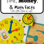Simultaneously Teach Time, Money, & Math Facts