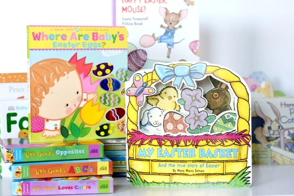 Easter Books for Kids by This Little Home of Mine