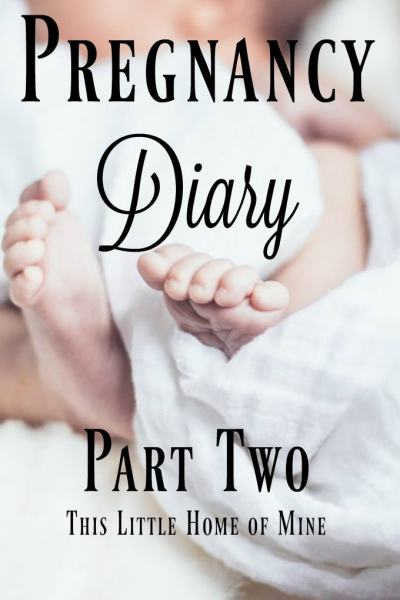 Pregnancy Diary - Part Two by This Little Home of Mine