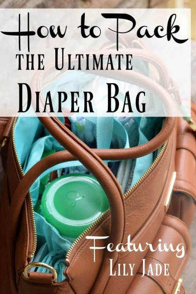 Lily Jade Diaper Bag Backpack - Featured on This Little Home of Mine