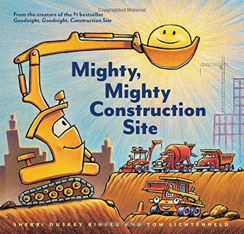 Mighty, Mighty Construction Site - Featured on This Little Home of Mine