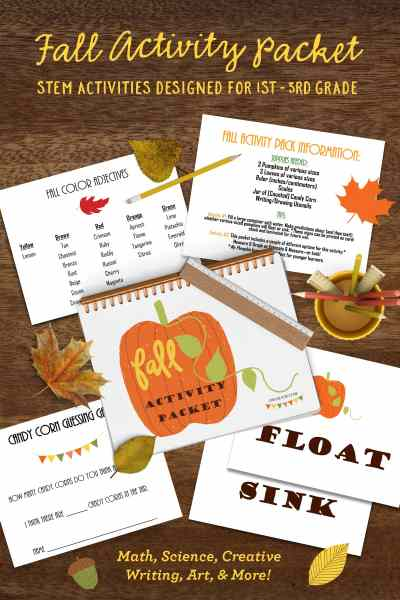 Fall-Themed STEM Activity Packet – On Sale Now!