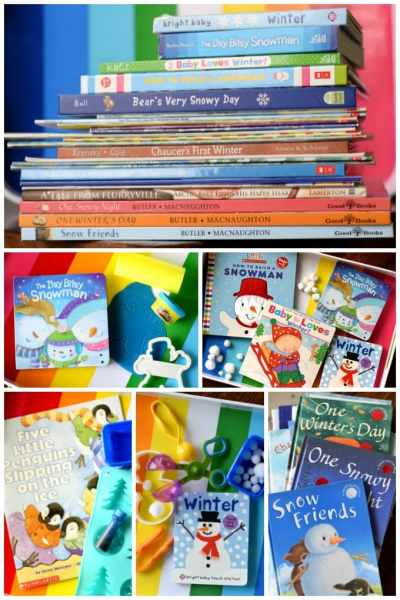 Winter Books and Sensory Activities for Kids